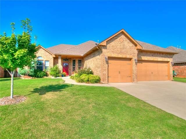2309 Makaila Way, Yukon, OK 73099 (MLS #929536) :: The Oklahoma Real Estate Group