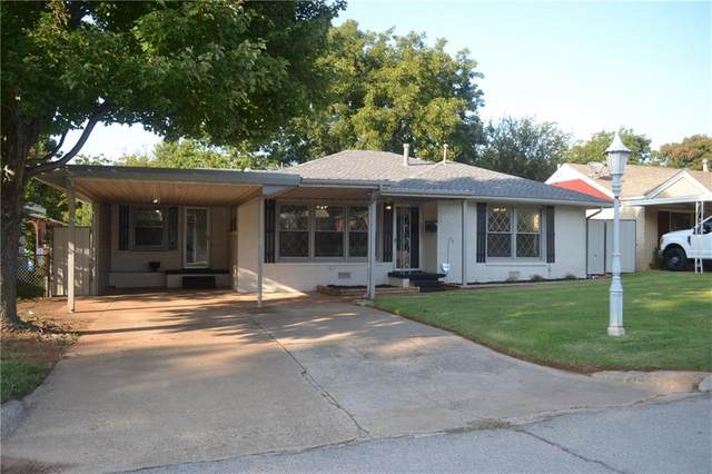 311 W Truman, Purcell, OK 73080 (MLS #929640) :: Erhardt Group at Keller Williams Mulinix OKC