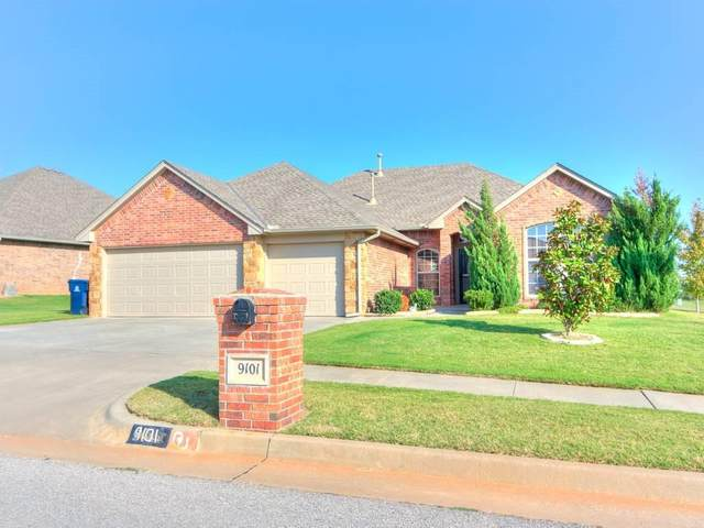 9101 NW 91st Circle, Yukon, OK 73099 (MLS #929677) :: Homestead & Co