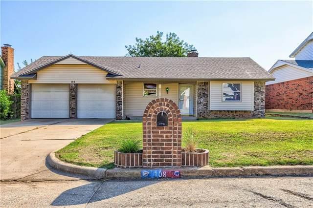 108 S Bouziden Drive, Moore, OK 73160 (MLS #929732) :: The Oklahoma Real Estate Group