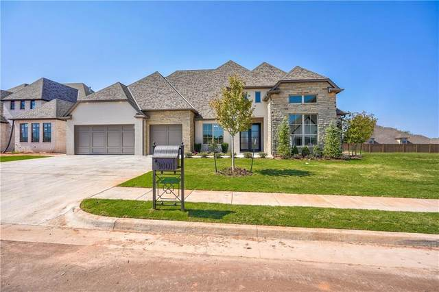 3001 Gold Finch Drive, Edmond, OK 73012 (MLS #929802) :: Homestead & Co