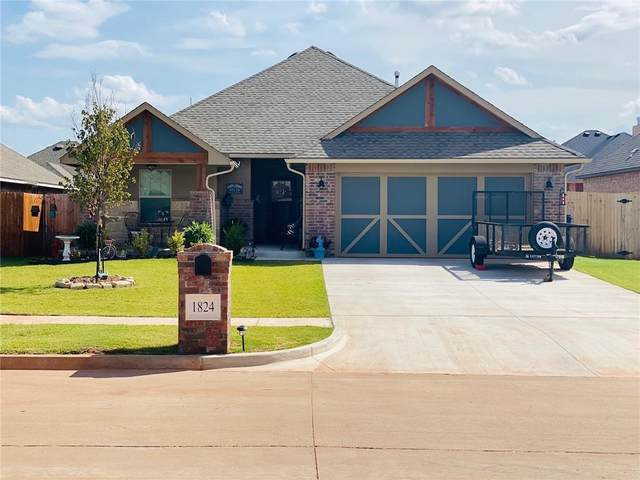1824 W Jj Court Way, Mustang, OK 73064 (MLS #930026) :: Erhardt Group at Keller Williams Mulinix OKC