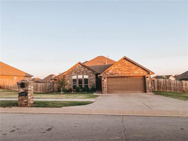 542 Tewksbury Lane, Blanchard, OK 73010 (MLS #930062) :: Erhardt Group at Keller Williams Mulinix OKC