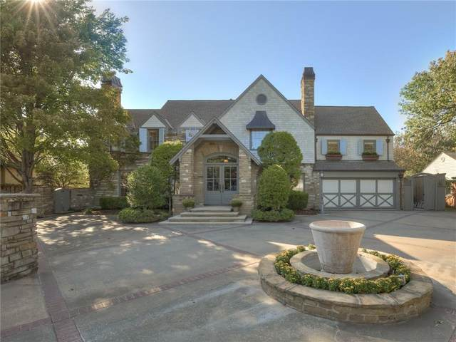 6514 Hillcrest Avenue, Nichols Hills, OK 73116 (MLS #930233) :: Homestead & Co