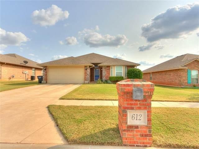 612 Meadow Land Drive, Moore, OK 73160 (MLS #930383) :: Homestead & Co