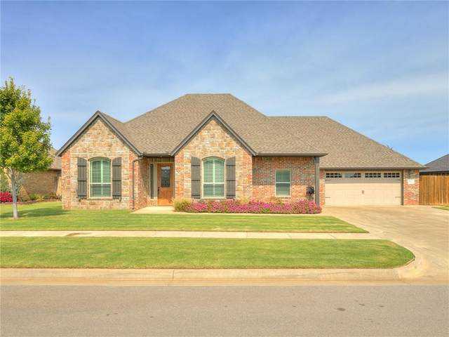 2101 Stratta Drive, Weatherford, OK 73096 (MLS #930507) :: The UB Home Team at Whittington Realty