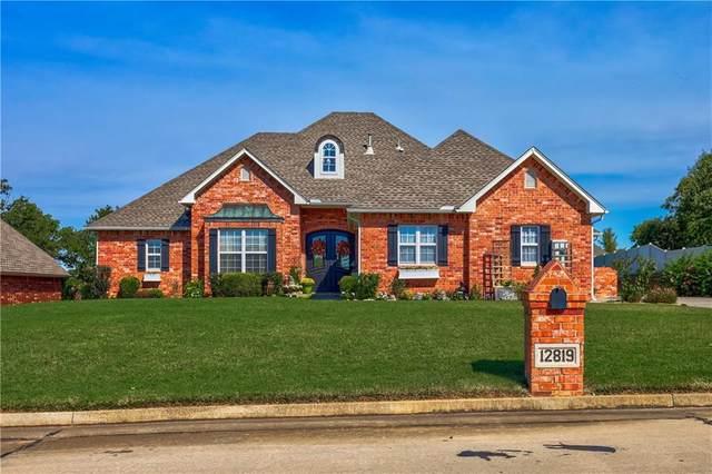 12819 Forest Glen Drive, Choctaw, OK 73020 (MLS #930524) :: Homestead & Co
