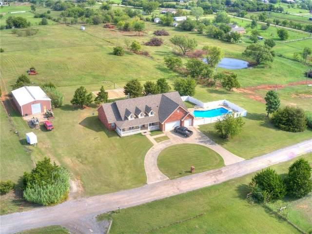 6009 SE 156th Street, Oklahoma City, OK 73165 (MLS #931343) :: Homestead & Co