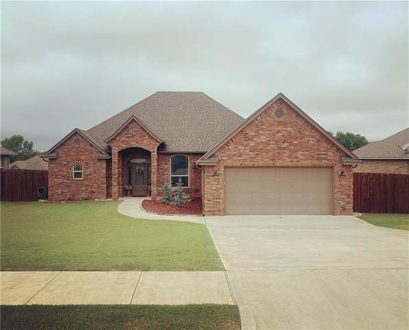 1691 Cowboy Lane, Blanchard, OK 73010 (MLS #931586) :: Homestead & Co
