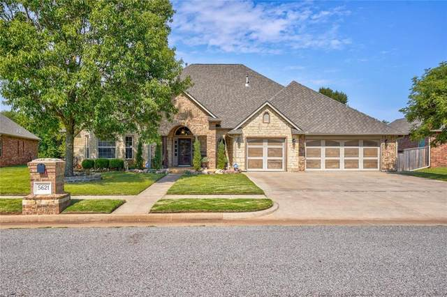 5621 Creekmore Drive, Oklahoma City, OK 73179 (MLS #931995) :: Homestead & Co