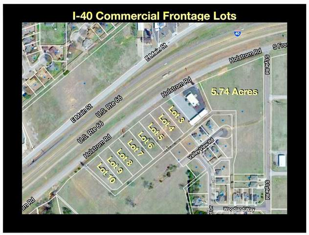 08 Holstrom (Frontage) Road Lot 8, Weatherford, OK 73096 (MLS #932025) :: Homestead & Co