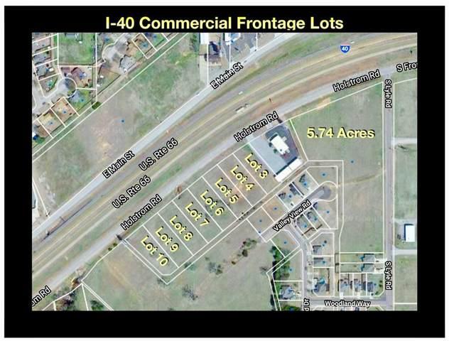 08 Holstrom (Frontage) Road Lot 8, Weatherford, OK 73096 (MLS #932025) :: Erhardt Group at Keller Williams Mulinix OKC