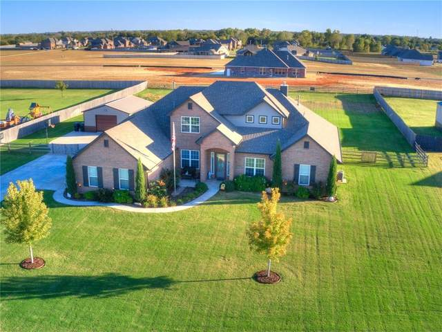 12708 SW 25th Street, Yukon, OK 73099 (MLS #932046) :: Homestead & Co