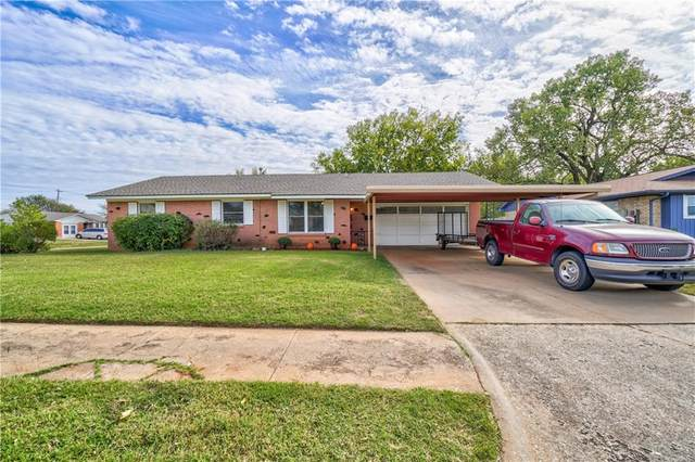 510 NE 18th Street, Moore, OK 73160 (MLS #932363) :: The UB Home Team at Whittington Realty