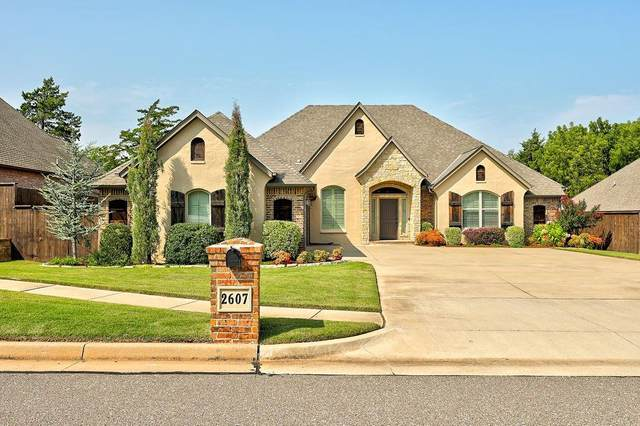 2607 Cheval Pointe Drive, Edmond, OK 73034 (MLS #932462) :: Keri Gray Homes