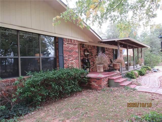 14411 N County Road 3280 Road, Pauls Valley, OK 73075 (MLS #932773) :: Homestead & Co