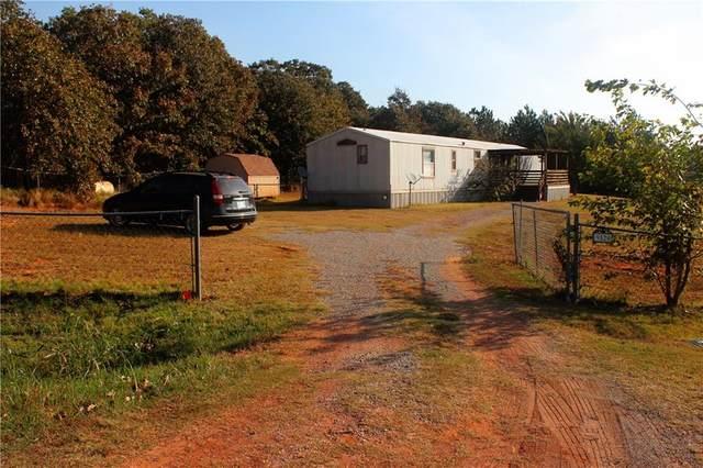 9520 Sleepy Hollow Drive, Newalla, OK 74857 (MLS #932926) :: Homestead & Co