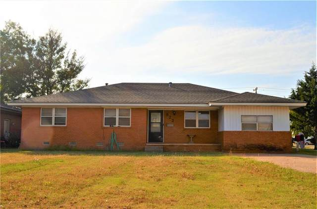 822 N Meta Street, Cordell, OK 73632 (MLS #933026) :: The UB Home Team at Whittington Realty
