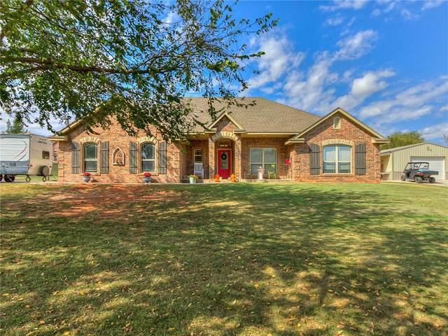 2430 County Road 1328, Blanchard, OK 73010 (MLS #933105) :: Homestead & Co