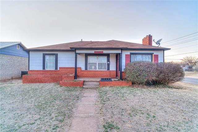 1329 N Willard Street, Altus, OK 73521 (MLS #933180) :: Homestead & Co