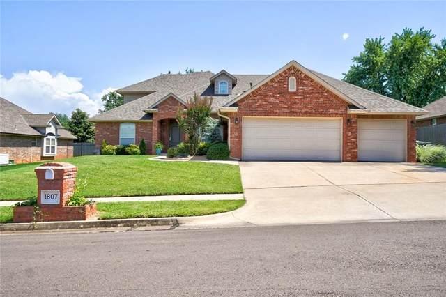 1807 Barrington Drive, Norman, OK 73071 (MLS #933253) :: Homestead & Co