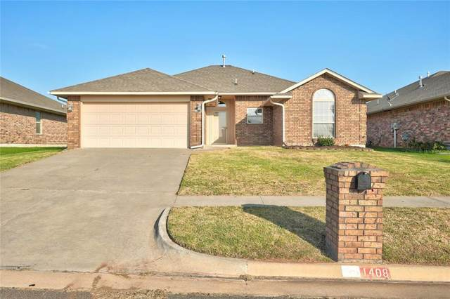 1408 January Place, Moore, OK 73160 (MLS #933257) :: Homestead & Co
