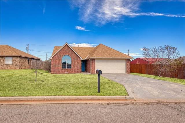 313 Ridgecrest Drive, Elk City, OK 73644 (MLS #934086) :: The UB Home Team at Whittington Realty