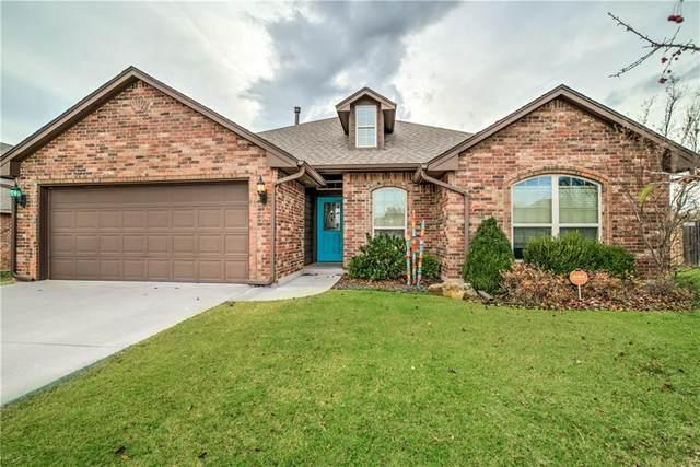 1295 Creekside Drive, Choctaw, OK 73020 (MLS #935182) :: Homestead & Co