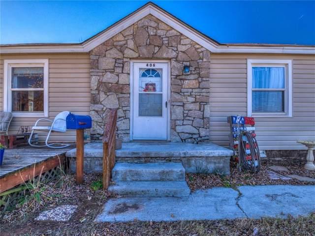 406 S 8th Street Drive, Yukon, OK 73099 (MLS #935294) :: Homestead & Co