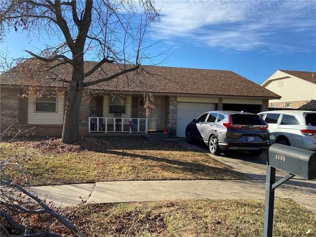 1105 S English Drive, Moore, OK 73160 (MLS #935371) :: Homestead & Co