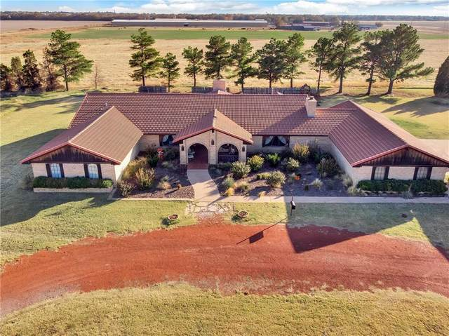 32095 E County Road 1460 Road, Mangum, OK 73554 (MLS #935413) :: Homestead & Co