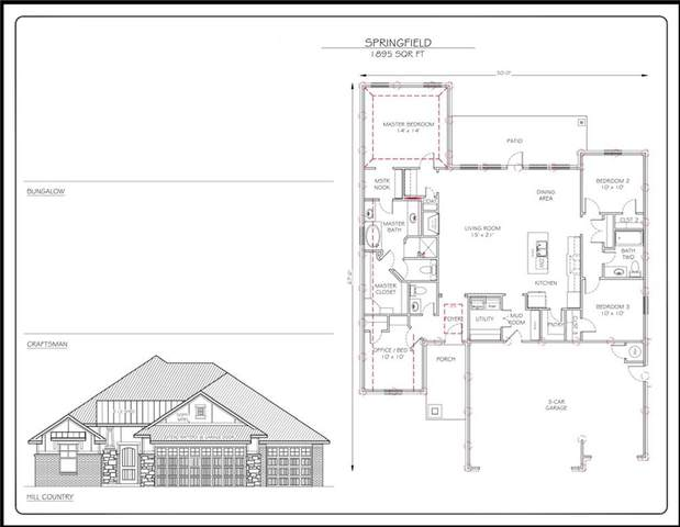 2709 SE 22 Street, Moore, OK 73160 (MLS #935532) :: Homestead & Co