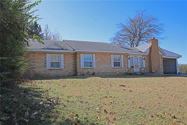 430 W Jefferson Street, Purcell, OK 73080 (MLS #935834) :: KG Realty