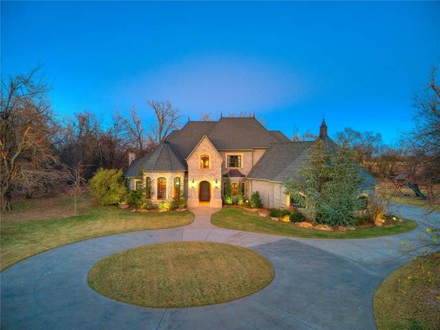 5800 Twin Fawn Trail, Mustang, OK 73064 (MLS #935903) :: The UB Home Team at Whittington Realty