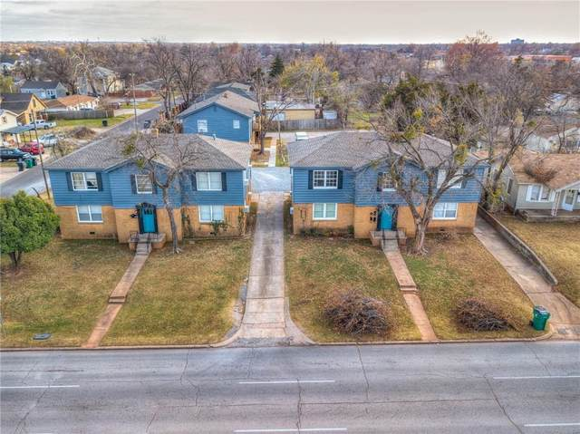 400 SW Grand Boulevard, Oklahoma City, OK 73109 (MLS #936136) :: KG Realty
