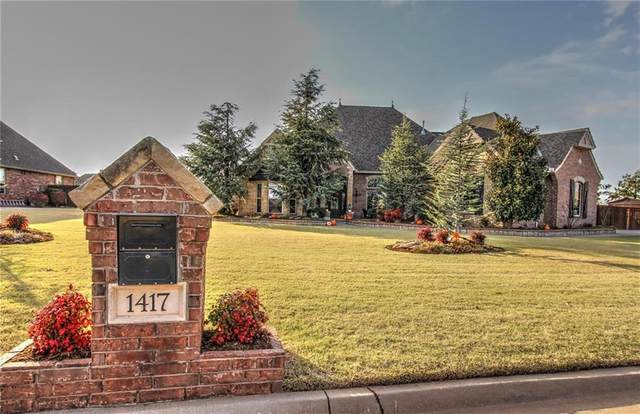 1417 N Tea Olive Way, Mustang, OK 73064 (MLS #936139) :: Your H.O.M.E. Team