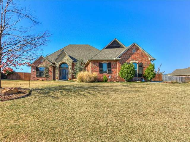 825 Silver Tree Drive, Choctaw, OK 73020 (MLS #936182) :: The UB Home Team at Whittington Realty