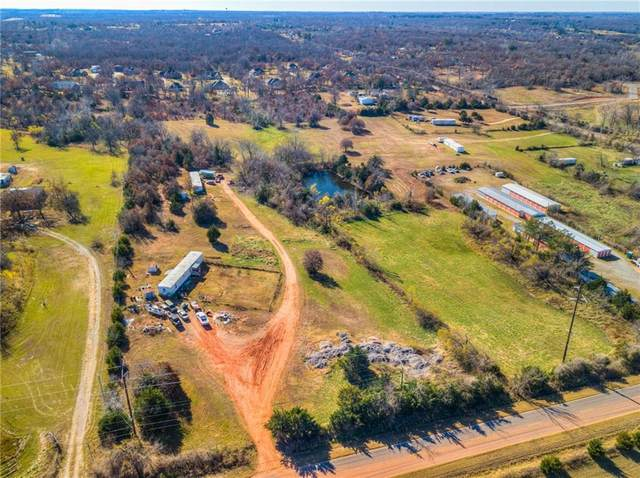 0 SE 15Th/Peebly Road, Choctaw, OK 73020 (MLS #936198) :: The UB Home Team at Whittington Realty