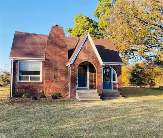 11127 E Draper Avenue, Choctaw, OK 73020 (MLS #936423) :: The UB Home Team at Whittington Realty