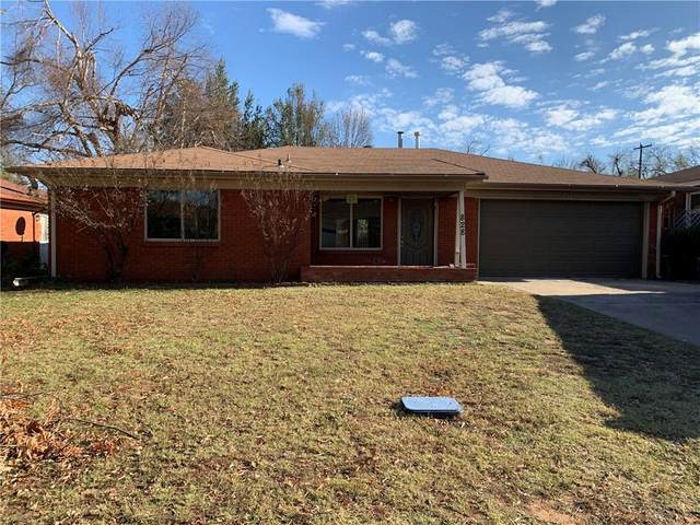 828 E Towry Drive, Midwest City, OK 73110 (MLS #936432) :: The UB Home Team at Whittington Realty