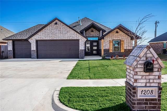 1208 N Taylor Way, Mustang, OK 73064 (MLS #936848) :: Homestead & Co