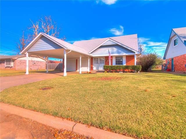 308 Davis Circle, Midwest City, OK 73110 (MLS #936906) :: Homestead & Co
