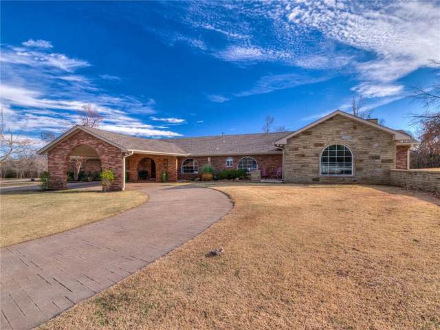 22700 N Briarwood Drive, Edmond, OK 73025 (MLS #936993) :: Homestead & Co