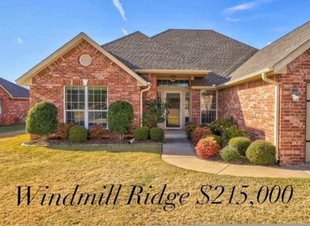 1602 Cedar Bend Court, Shawnee, OK 74804 (MLS #937087) :: Homestead & Co