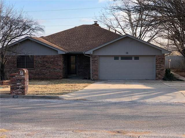 10 Mesquite Avenue, Sayre, OK 73662 (MLS #937411) :: Your H.O.M.E. Team