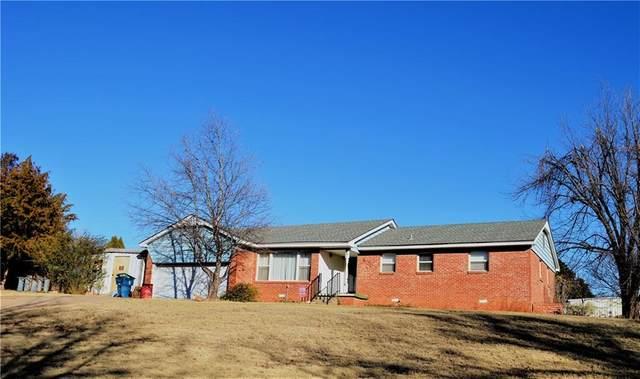 801 N Market Street, Cordell, OK 73632 (MLS #937572) :: The UB Home Team at Whittington Realty