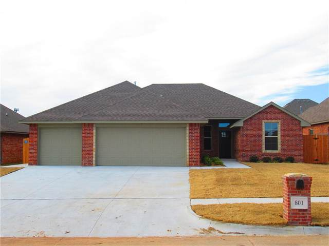 801 S Silver Leaf Drive, Moore, OK 73160 (MLS #937642) :: Homestead & Co