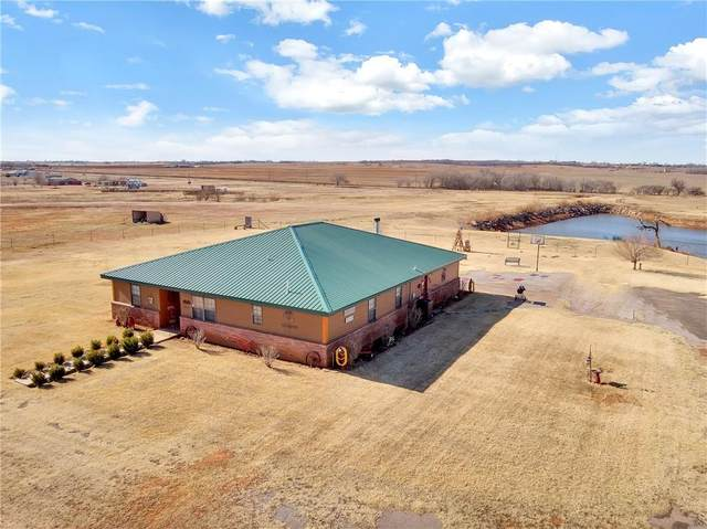 19920 E 1070 Road, Elk City, OK 73644 (MLS #938152) :: Erhardt Group at Keller Williams Mulinix OKC