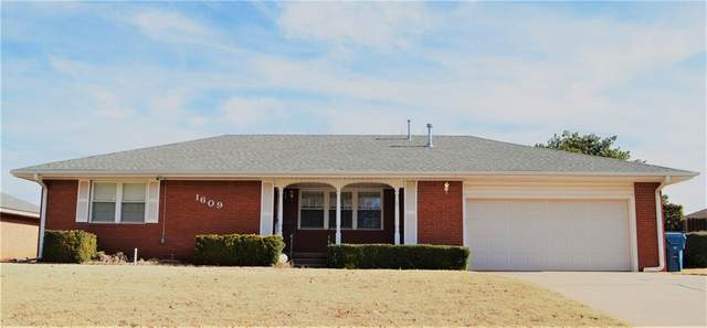 1609 Crestview Drive, Cordell, OK 73632 (MLS #939278) :: The UB Home Team at Whittington Realty