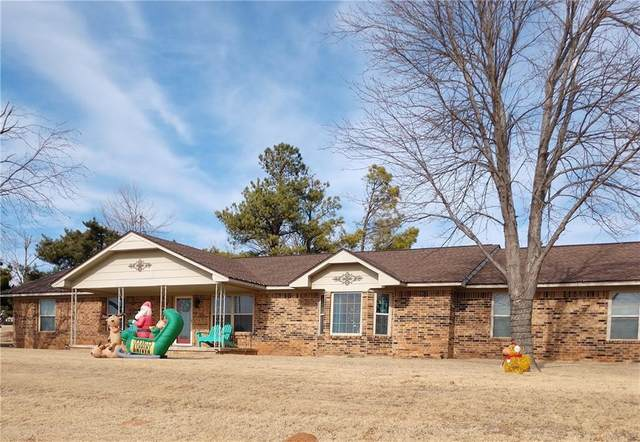 1140 W Rambling Ridge Road, Fort Cobb, OK 73038 (MLS #939287) :: The UB Home Team at Whittington Realty